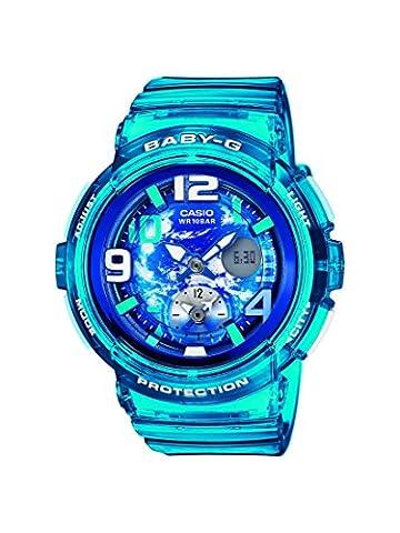 Casio Damen-Armbanduhr Baby-G Analog - Digital Quarz Resin BGA-190GL-2BER