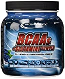 Ironmaxx BCAAs + Glutamine Powder, Blue Raspberry, 550g