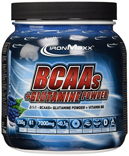 Ironmaxx Bcaa's + Glutamine Powder