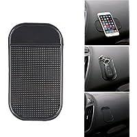 Alfombrilla antideslizante para salpicadero de coche con almohadilla adhesiva de silicona antideslizante para llaves de teléfono