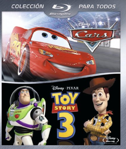 Pack Toy Story 3 + Cars [Blu-ray] [Spanien Import]