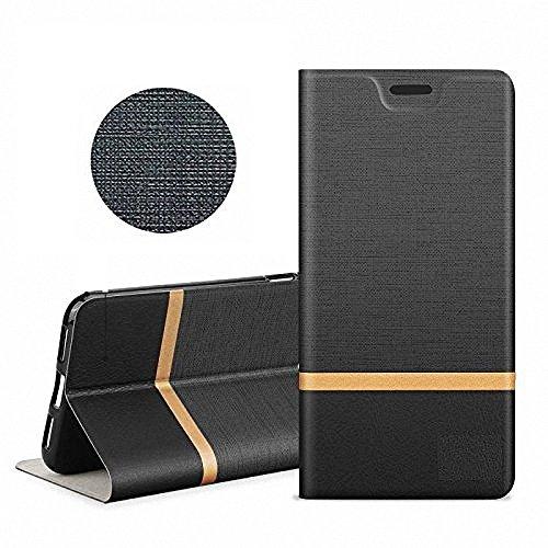 GH GHawk Xiao Pocophone F1 Case, Protezione interna in acciaio tungsteno,Tutela Dell'Ambiente PC + Pelle PU Custodia Caso Custodia Case Cover