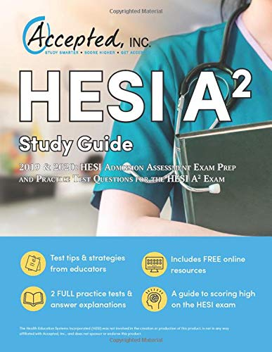 HESI A2 Study Guide 2019 And 2020: HESI Admission Assessment Exam Prep and Practice Test Questions for the HESI A2 Exam - Pflege Value Pack