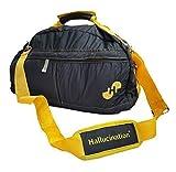 Hallucination Unisex Gym Bag (Black) for Men & Women Sports Bag Duffel Bag