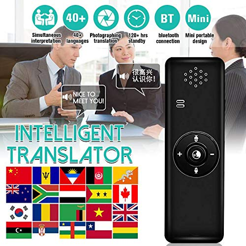 MaiTian Portable Smart Wireless,Bluetooth Translator Real-Time,Language Translation Stick Pen, Intelligent Voice Photo Translate (per Business, apprendimento)