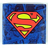 SUPERMAN Retro Comic LOGO Geldbörse Purse
