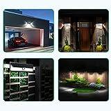 [2 Pezzi] Mpow 102 LED Lampada Solare, Luce da Parete Luminosa, 3 Modalità di Illuminazione Opzionale, Grande Pannello Solare, Mpow Luce Solare Impermeabile, Grande Luce Esterna per Giardino, Vialetto, Cantiere, Grage, Percorso e Patio