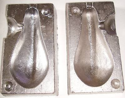 TraceAce Tackle 8 Oz Boat Weight Mould,Weight Moulds,Lead Moulds