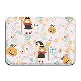 liangxiquguidaojiaotongshe Non-Slip Doormat Magic Pumpkin Durable Mats rug Bathroom Bedroom Floor Carpet
