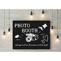CristalPainting - 50x40 Fotobox Photo booth Schield Hochzeit Foto Tafel