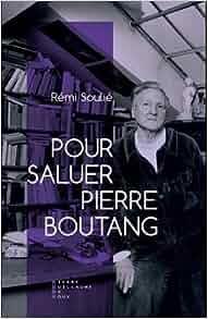 Couverture Pour saluer Pierre Boutang