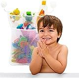 37YIMU para cuarto de baño y bañera ,bolsa de almacenamiento,Red de malla,organizador de juguetes,soporte con ventosa
