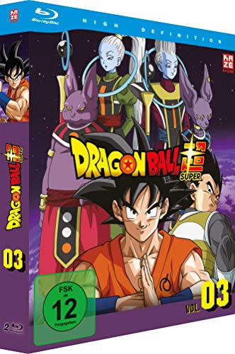 Dragonball Super - Box 3 - Episoden 28-46 [2 Blu-rays]