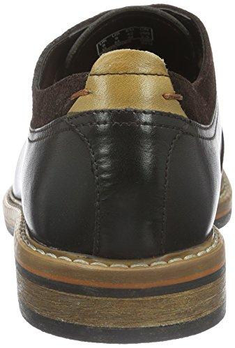 Clarks Pitney Walk, Scarpe Stringate Uomo Marrone (Dark Brown Leather)