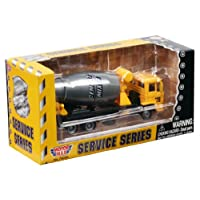 Richmond Toys Construction Service Series Die-Cast Cement Mixer Model with Moving Parts