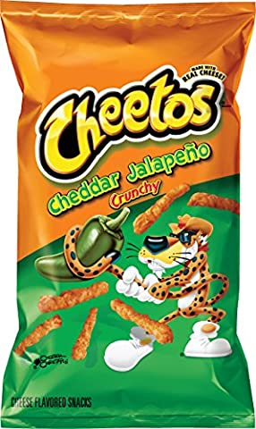 Cheetos Cheddar Jalapeno Cheese Snacks (241g) - Snack aromatisé au fromage - Importation US!