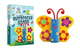 Jumboo 3D DIY Art and Craft Set For Kids-Butterfly Stand