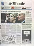 MONDE (LE) [No 21044] du 16/09/2012 - ECOLOGIE - CE QUI VA CHANGER - DELPHINE BATHO ET AYRAULT - DE L'INDE AU MAGHREB - LA HAINE DE L'AMERIQUE - MONSIEUR LE MAIRE J'AI PERDU MON JOB - AIDEZ-MOI - CHANEL CONDAMNE POUR COPIE - LE REGARD DE PLANTU - LA GRANDE INQUIETUDE DES JUIFS DE FRANCE