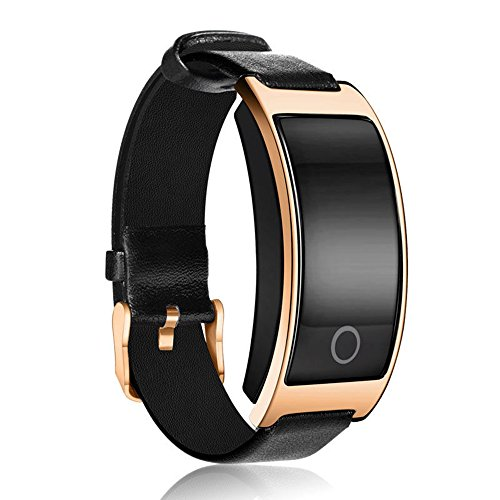 Insky2018Fitness Tracker, ck11s–Sport Uhr Bluetooth Smart-Armband, Gold