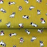 Nutex NU156 Französische Bulldogge Stoff – Französische