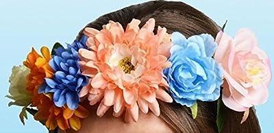 Flower Floral Hairband Headband Spring Easter Party Fancy Dress Head Decoration Girl Hair Boho Crown Wreath Wedding Lady Festival Garland