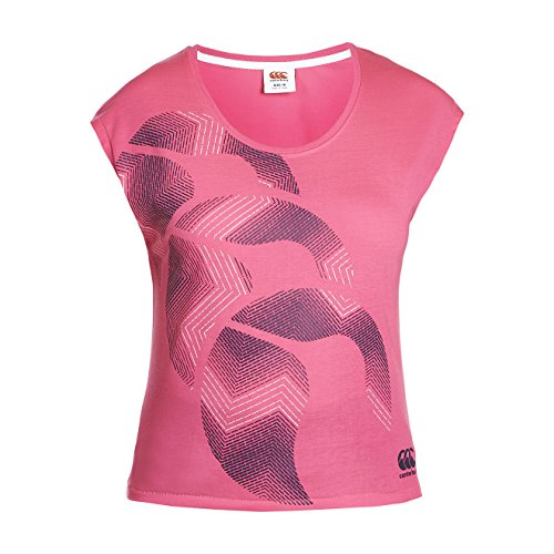 CANTERBURY CCC Logo Fill T-shirt pour Rose - Rose vif