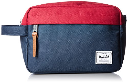 herschel-chapter-travel-kit-kulturtasche-navy-rot