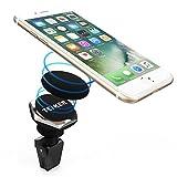 Supporto magnetico per auto, Universal Tenker twist-lock Air 360° rotazione multi-angolo Vent magnetico supporto da auto per iPhone 7/7Plus/6/6Plus/6s/6s Plus/se/5/5S, Samsung Galaxy S8/S8Plus/S7/S7Edge/S6/S5Note 5/4, HTC, LG, Sony, Huawei P9e altri smartphone