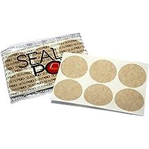 Crea cápsulas de té Nespresso gracias a las tapas de té Sealpod Tea Lids - Tapas adhesivas tipo filtro compatibles con cafeteras Nespresso OriginalLine