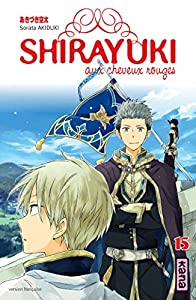 Shirayuki aux cheveux rouges Edition simple Tome 15
