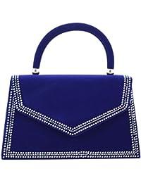 Girly HandBags samt Handtasche Henkel Diamanten Clutch