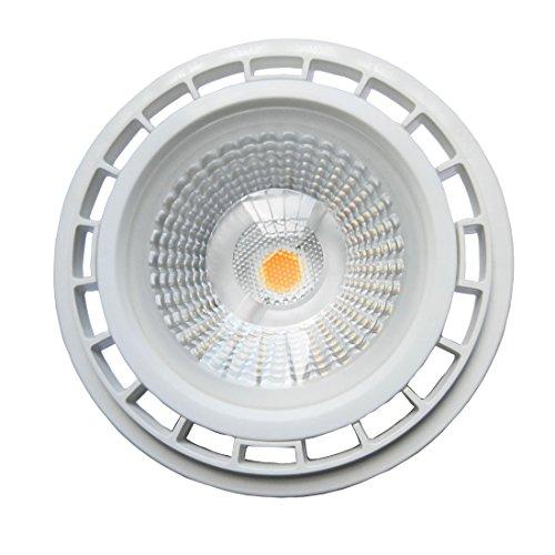 Akaiyal 12W AR111 GU10 Lámpara de LED 220V COB ES111 Bombillas de Reflector Blanco Fresco 6000K 1200 Lúmenes 60 Grados como Reemplazo de la Bombilla de Halógeno 75W (1-Pack, No Regulable)