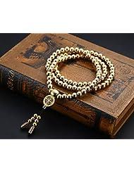 Penixon Selbstverteidigung 108 Buddha Perlen Halskette Ketten