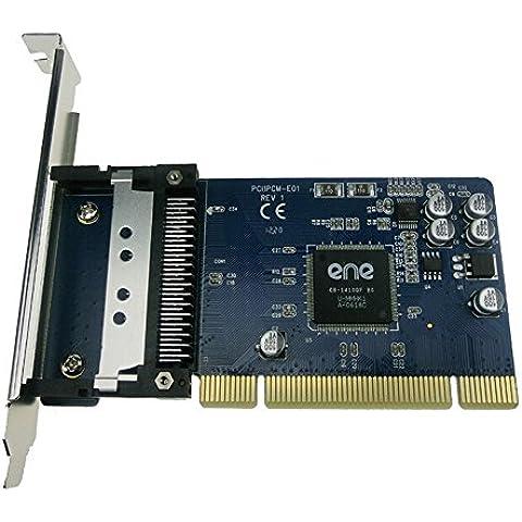 New PCI to PCMCIA 16-bit (PCMCIA 2.1 / JEIDA 4.2) and 32-bit Cardbus PCMCIA PC Card to PCI Adapter Converter support low profile