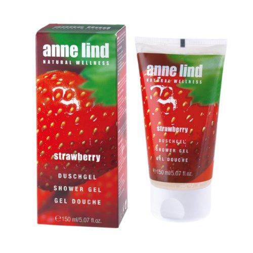Annemarie Börlind Anne Lind Women, Strawberry Shower Gel, 1er Pack (1 x 150 ml)