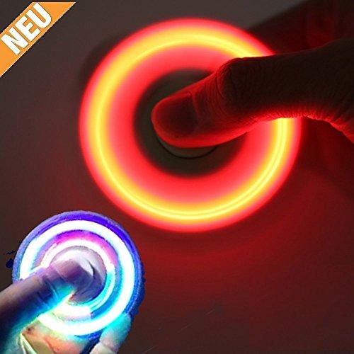 Preisvergleich Produktbild ***NEU*** -LED Fidget Spinner Handspinner Toy mit LED Funktion - LED | Fidget, Spinner | Gyro, Fidget | Desktop, toy | Hand, Finger, Spielzeug | Ultra schnelle Drehungen möglich | Glow, Leuchten | Spinner | Baut Stress und Ängste ab | Hilft sich zu Fokussieren | Lindert Unruhe und Nervosität | Tolle Ablenkung und Beschäftigung von TK Gruppe (blau)