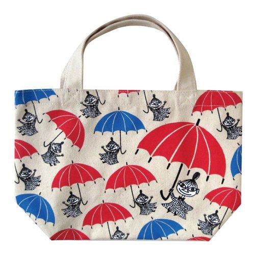 Sacchetto tassello Moomin cotone (sacchetto lunch box) (pranzo tote) [ombrello] (japan import)