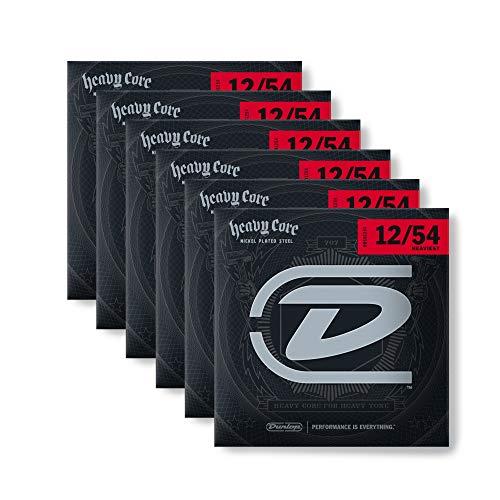 6Sets von Dunlop dhcn1254schwerste Core E-Gitarre Saiten
