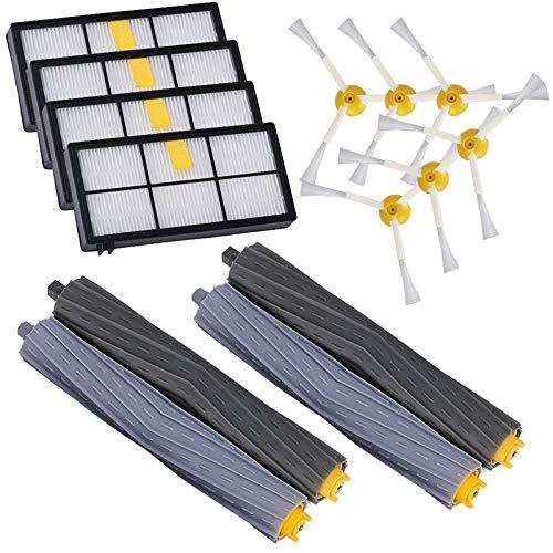 Zhuhaimei,Accesorios 14PCS para IRobot Roomba 880 860 870 871 980 990 Juego de cepillos de Repuesto(Color:Multi)