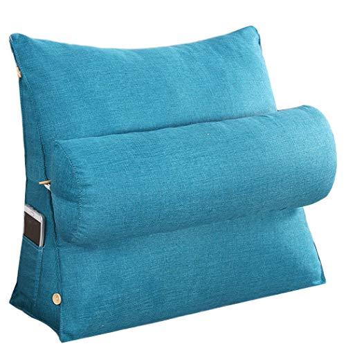 YONGYONG Coton De Style 45cm * 45cm * 20cm, 60cm * 50cm * 20cm De Protection Arrière De Couleur Unie De Mélange De Dos De Sofa De Style Moderne De Maison Solide