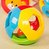 s-love Baby Toys Kinder Educational Sensory Bälle Bunte Bell Ball für 6–12 Monate Spielzeug