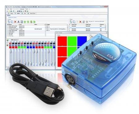 Sunlite Easy Stand Alone SLESA-U6 DMX-USB-Schnittstelle