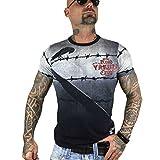 Yakuza Herren Read Crow T-Shirt