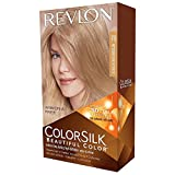 #9: Revlon Colorsilk Beautiful Hair Color with Ayur Product in Combo (70-Medium Ash Blonde)