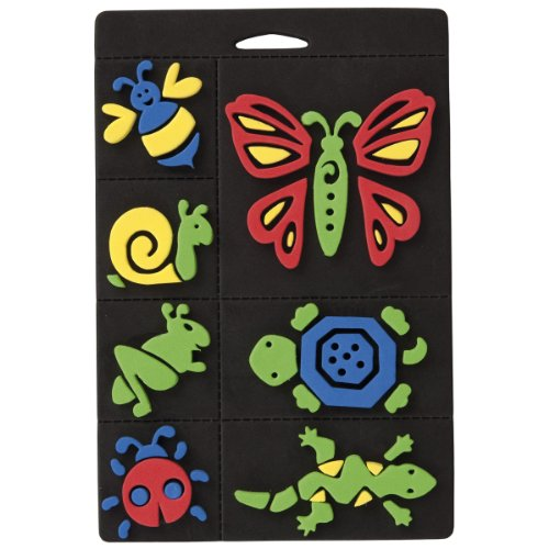 craft-planet-7-piece-foam-stamp-set-creepy-crawlies-multi-colour