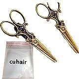 cuhair(TM) 2 Stück Schere Frauen Mädchen Haarspange Haarnadeln Haarklammer Haarschmuck