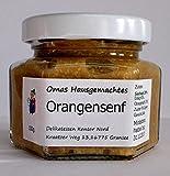 Orangensenf - Hausgemachter Senf mit frischer Orange