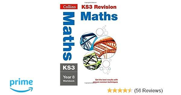 Ks3 Maths Year 8 Workbook Collins Ks3 Revision Amazon
