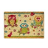 Relaxdays 10017717 Zerbino da Ingresso, Multicolore, 50 x 65 cm