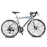 KINGTTU® 2016 New 52cm Weiß Blau XC760 Aluminiumrahmen ShimanoTZ 50